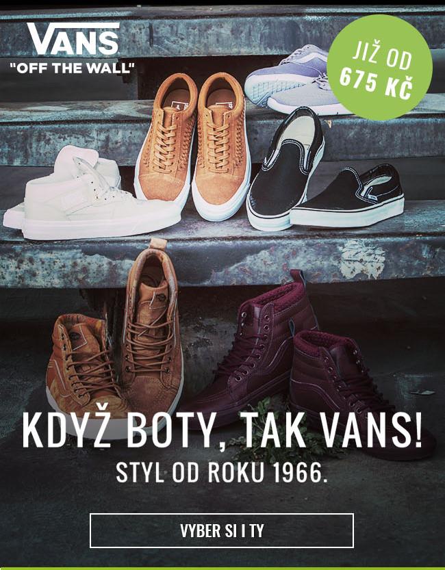 Boty Vans