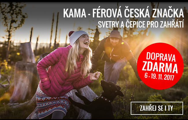 Kama - doprava zdarma