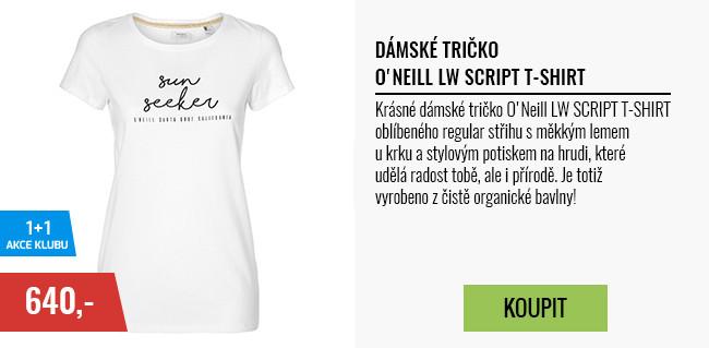 Dámské tričko O Neill LW SCRIPT T-SHIRT 64cbfba388