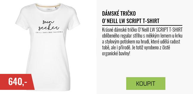 Dámské tričko-O'NEILL LW SCRIPT T-SHIRT
