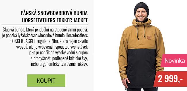 Pánská lyžeřská/snowboardová bunda