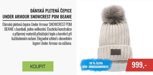 Dámská pletená čepice