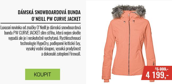 Dámská lyžarská/snowboardová bunda