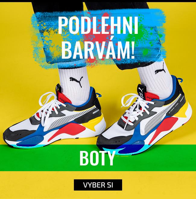 Podlehni barvám - boty