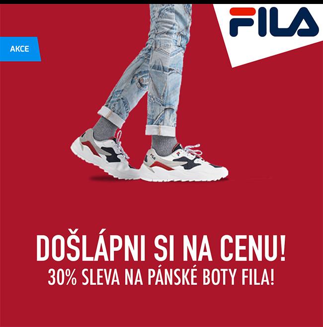 Fila - pánské boty se slevou 30%