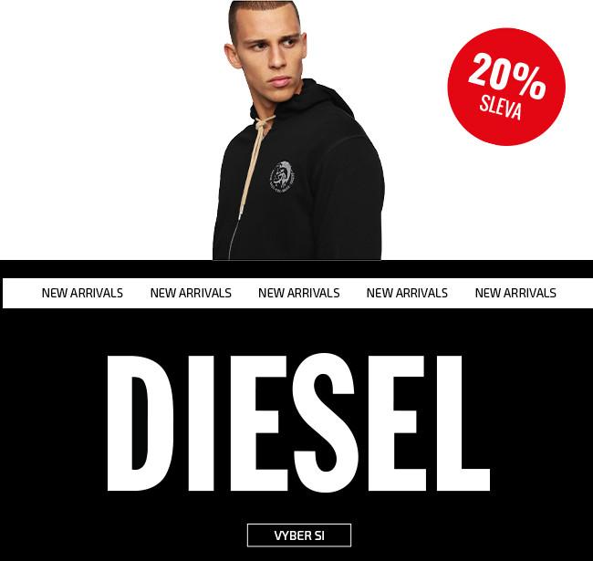 Diesel - 20% sleva banner