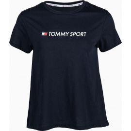 Tommy Hilfiger COTTON MIX CHEST LOGO TOP