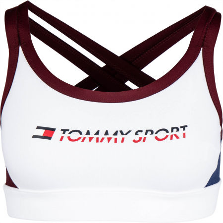 Tommy Hilfiger CO/ EL LOW SUPPORT BRA LOGO