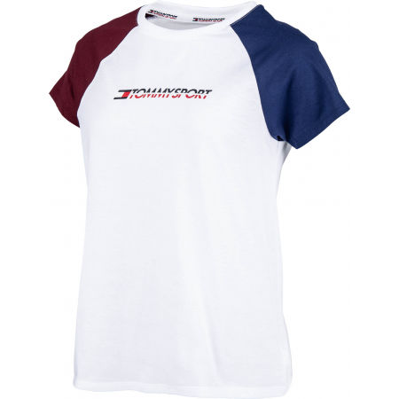 Tommy Hilfiger COTTON MIX TOP LOGO
