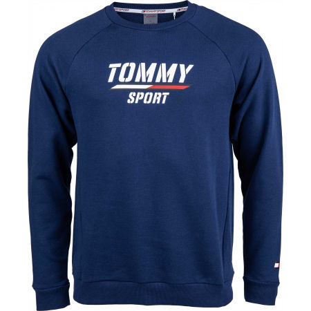 Tommy Hilfiger PRINTED FLEECE CREW