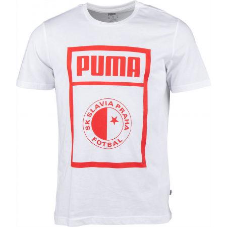 Puma SLAVIA PRAGUE GRAPHIC TEE