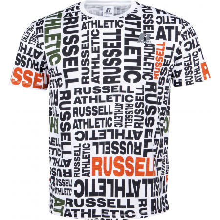Russell Athletic AOP PRINTED S/S CREWNECK TEE SHIRT