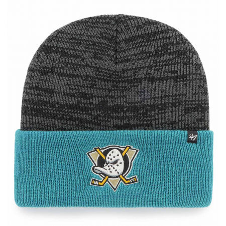 47 NHL ANAHEIM DUCKS TWO TONE BRAIN FREEZE '47 CUFF KNIT BLK