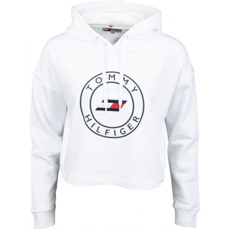 Tommy Hilfiger RELAXED ROUND GRAPHIC HOODIE LS