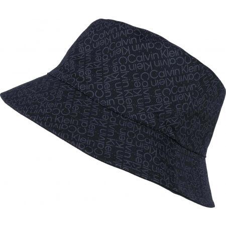 Calvin Klein ZIG ZAG MONOGRAM REV BUCKET HAT