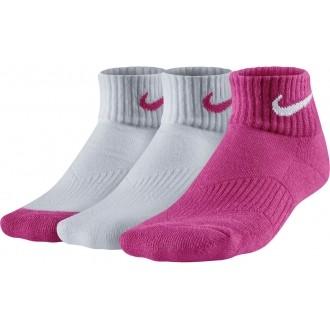 Nike 3P YTH CTN CUSH QTR W/ MOIST M