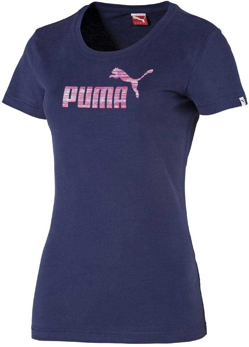 Puma FUN LARGE LOGO TEE W. Dámské triko e9b076e91e1