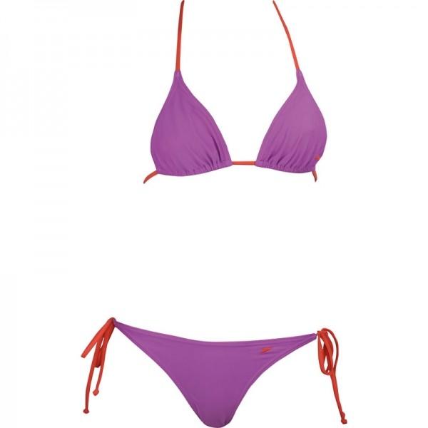 2PIECE TAPER TRIANGLE MEDIUM LEG - Dámské dvojdílné plavky