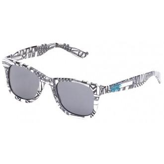 Sluneční brýle JANELLE HIPSTER SUNGLASSES bílá OSFA