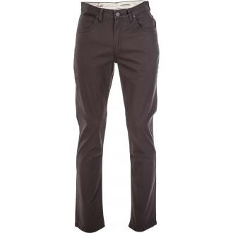 BROOKLYN STRAIGHT PIRATE BLACK - Pánské kalhoty