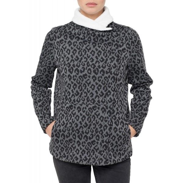 LW THE REFINED SUPERFLEECE - Zimní dámská mikina/kabát