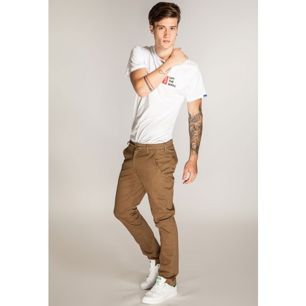 CHINO BUTTER BRONZE - Pánské kalhoty