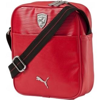 Luxusní taška FERRARI LS PORTABLE červená NS