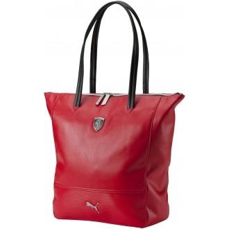 Dámská luxusní kabelka FERRARI LS SHOPPER červená NS