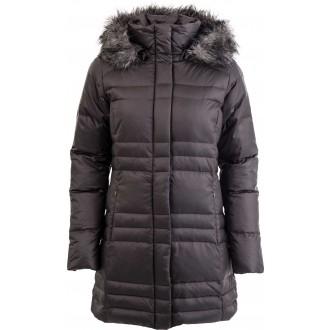 Dámský zimní kabát MERCURY MAVEN IV MID JACKET hnědá S