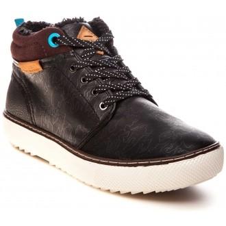 Stylové pánské zimní boty TRACKER černá EUR 43