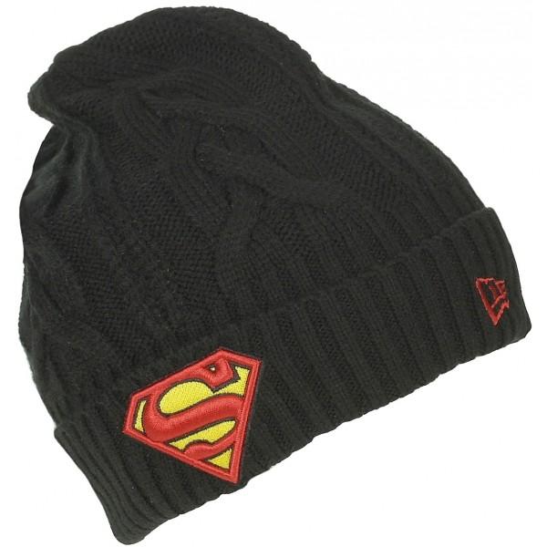 HERO CUFF SUPERMAN - Stylová zimní čepice