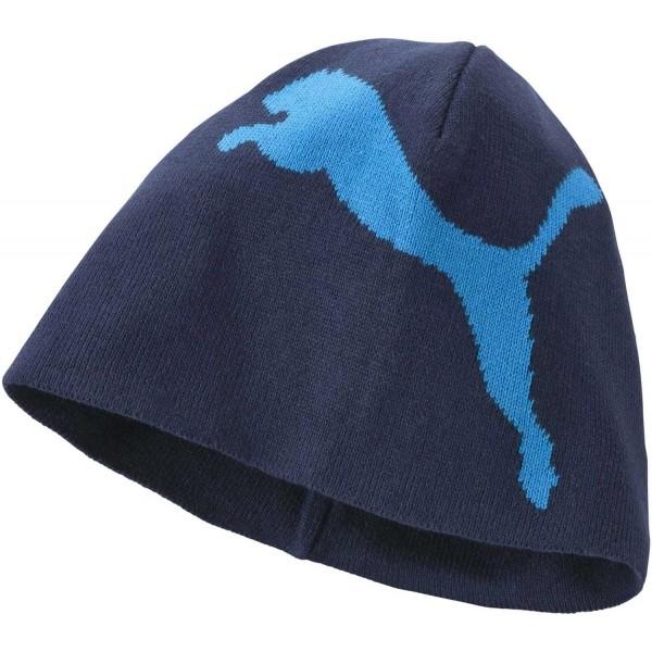 BIG CAT NO1LOGO BEANIE - Pánská zimní čepice
