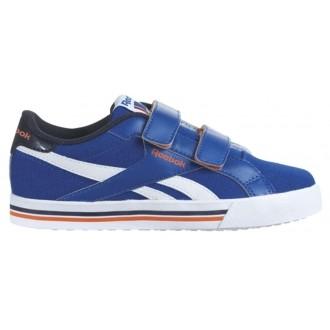 Dětská lifestylová obuv - Reebok ROYAL COMPLETE ALT modrá EUR 27 (10 UK kids)