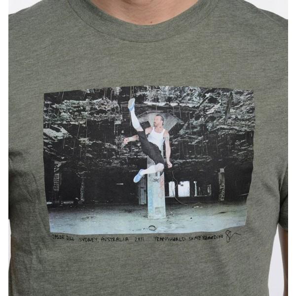 TWS X VANS:DILL II - Pánské fashion triko