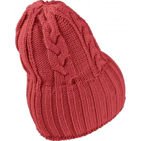 NSW W'S CABLE KNIT BEANIE - Dámská zimní čepice