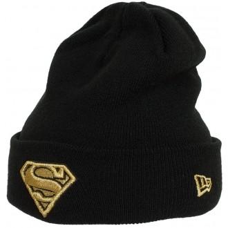 SPARKLE CUFF SUPGRL - Dámská zimní čepice Supergirl