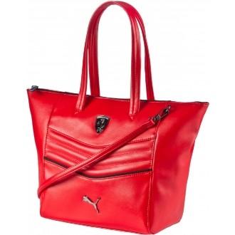 Luxusní dámská kabelka FERRARI LS HANDBAG červená OSFA