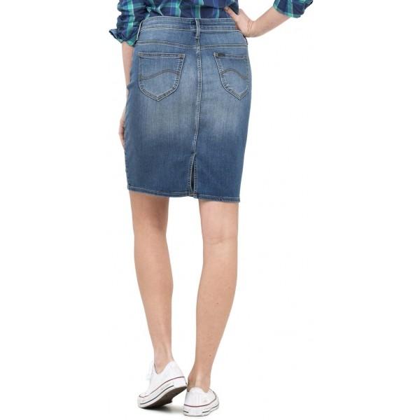 Dámská denimová sukně