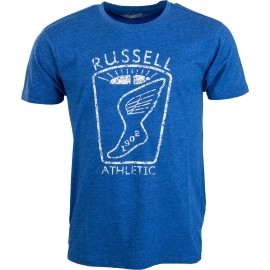 Russell Athletic CREW NECK TEE DISTTRESSED