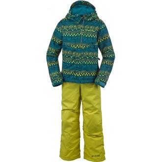Dětská zimní souprava BUGA SET žlutá XXS