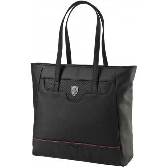 Luxusní dámská kabelka FERRARI LS SHOPPER černá OSFA