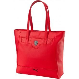 Luxusní dámská kabelka FERRARI LS SHOPPER červená OSFA