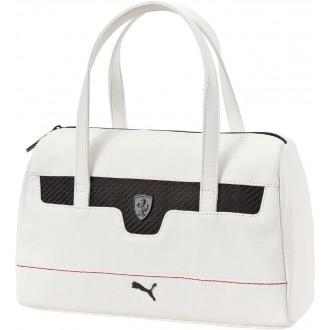Luxusní dámská kabelka FERRARI LS HANDBAG bílá OSFA