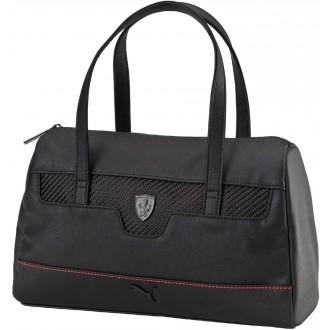 Luxusní dámská kabelka FERRARI LS HANDBAG černá OSFA