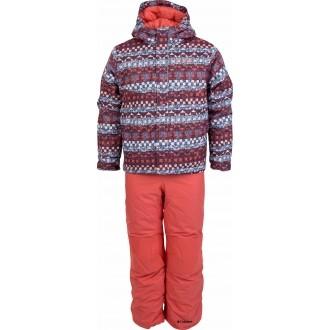 Dětská zimní souprava BUGA SET oranžová XXS