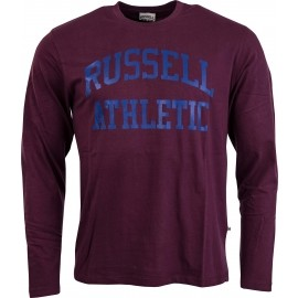 Russell Athletic L/S CREW TEE WITH PUFF PRINTED ARCH LOGO GRAPHIC
