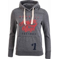 Russell Athletic PULL OVER HOODY WITH PUFF PRINT