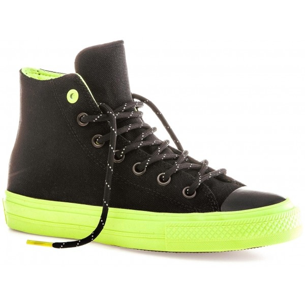 Converse CHUCK TAYLOR ALL STAR II SHIELD CANVAS Black Volt Gum ... d45625221e