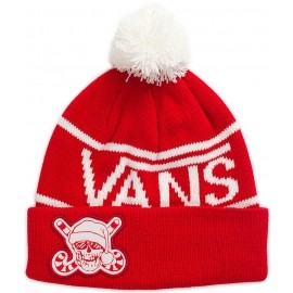 Vans M HOLIDAY POM BEANIE RACING RED