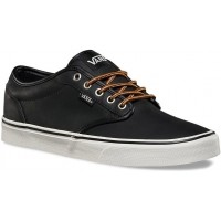Vans ATWOOD (Leather) Black/Marshmallow